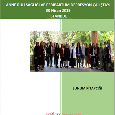 Presentation Booklet of Expert Meeting: Maternal Mental Health and Peripartum Depression, İstanbul, April 30, 2019